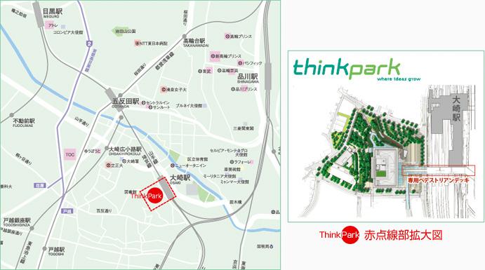 ThinkPark 地図